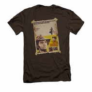 Elvis Presley Shirt Slim Fit Charro Coffee T-Shirt