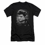Elvis Presley Shirt Slim Fit Sweater Black T-Shirt