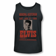 Elvis Presley Shirt Tank Top Buffalo 1956 Charcoal Tanktop