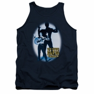 Elvis Presley Shirt Tank Top Hands Up Navy Tanktop
