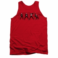 Elvis Presley Shirt Tank Top Jailhouse Rock Red Tanktop