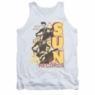 Elvis Presley Shirt Tank Top Sun Records Soundtrack White Tanktop