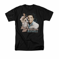 Elvis Presley Shirt That's All Right Black T-Shirt