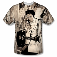 Elvis Presley Shirt The Guitarman Sublimation Shirt