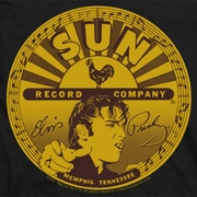 Elvis Presley Sun Records Full Logo Shirts