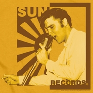 Elvis Presley Sun Records On The Mic Shirts