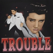 Elvis Presley Trouble In A White Suit Shirts