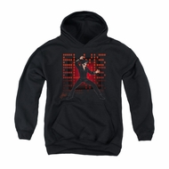 Elvis Presley Youth Hoodie 69 Anime Black Kids Hoody