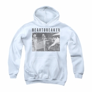 Elvis Presley Youth Hoodie Heartbreaker White Kids Hoody