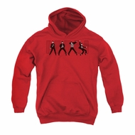 Elvis Presley Youth Hoodie Jailhouse Rock Red Kids Hoody