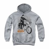 Elvis Presley Youth Hoodie Roustabout Athletic Heather Kids Hoody