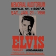 Elvis T-shirt - Buffalo 1956 Classic Rock - Dark Grey