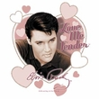 Elvis T-shirt - Classic Rock King Love Me Tender - White