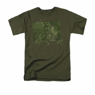 Elvis T-shirt - That 70s Elvis Classic - Green