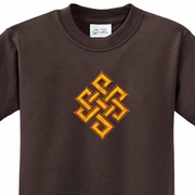 Endless Knot Kids Yoga Shirts