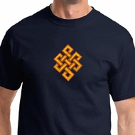 Endless Knot Mens Yoga Shirts