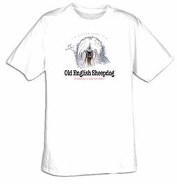 English Sheepdog Shirt Proud Owner of an Old English Sheepdog Tee