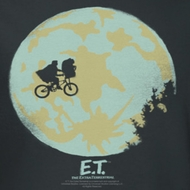 ET Shirts - Extra Terrestrial In The Moon Shirts