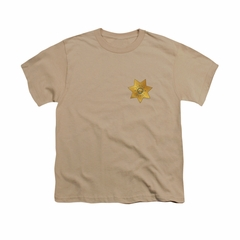 Eureka Shirt Kids Badge Sand T-Shirt