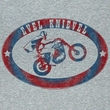 Evel Knievel Shirt Evel Brand Adult Athletic Heather Tee T-Shirt