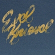 Evel Knievel Shirt Painted Adult Heather Blue Tee T-Shirt