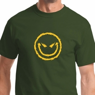 Evil Smiley Face Mens Halloween Shirts