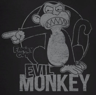 Family Guy Evil Monkey Shirts