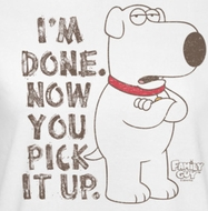 Family Guy Pick It Up Shirts