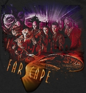 FarScape Graphic Collage Shirts