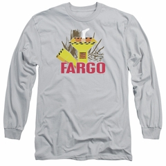 Fargo Long Sleeve Shirt Woodchipper Silver Tee T-Shirt