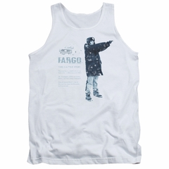 Fargo Tank Top This Is A True Story White Tanktop