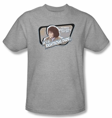 Ferris Bueller's Day Off Shirt Grace Adult Athletic Heather Tee T-Shirt
