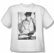 Ferris Bueller's Day Off Shirt Kids Cameron White Youth Tee T-Shirt