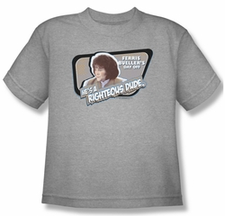 Ferris Bueller's Day Off Shirt Kids Grace Athletic Heather Youth Tee T-Shirt