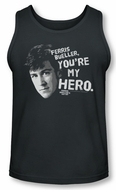 Ferris Bueller's Day Off Tank Top My Hero Charcoal Tanktop