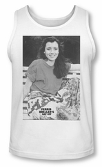 Ferris Bueller's Day Off Tank Top Sloane White Tanktop