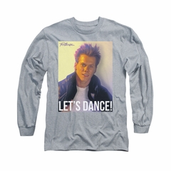 Fight Club Shirt Lets Dance Long Sleeve Athletic Heather Tee T-Shirt