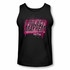 Fight Club Tank Top Project Mayhem Black Tanktop