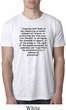 First Amendment Mens Burnout Shirt