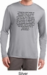 First Amendment Mens Dry Wicking Long Sleeve Shirt