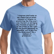 First Amendment Mens Shirts