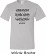 First Amendment Mens Tall Shirt