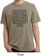 First Amendment Pigment Dyed Shirt