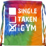 Fitness Bag Single Taken At The Gym Tie Dye Bag