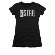 Flash Shirt Juniors Star Labs Black T-Shirt