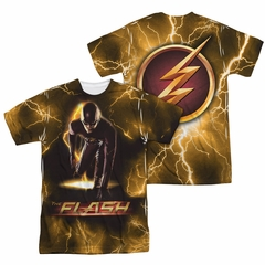 Flash Shirt Ready To Bolt Sublimation Shirt Front/Back Print