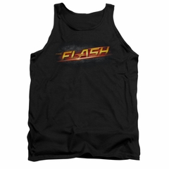 Flash Shirt Tank Top Logo Black Tanktop