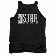Flash Shirt Tank Top Star Labs Black Tanktop
