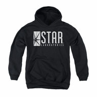 Flash Youth Hoodie Star Labs Black Kids Hoody