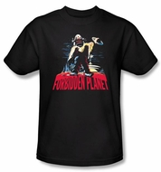 Forbidden Planet Kids T-Shirt Warner Bros Robby And Woman Black Shirt